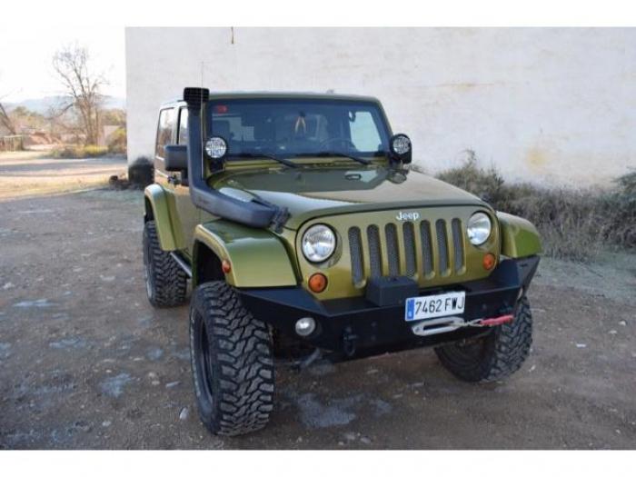 jeep wrangler segunda mano, coches jeep wrangler 2.8crd rubicon de