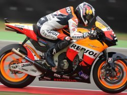 Dani Pedrosa, segundo en Assen a un suspiro de la pole