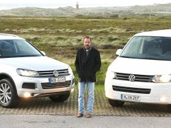 Kevin Costner, de gira con Volkswagen